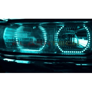 flashtech Chevrolet Silverado V.3 Fusion Color Change halo headlight kit (1999-2002) Silverado CY-SV9902-V3H