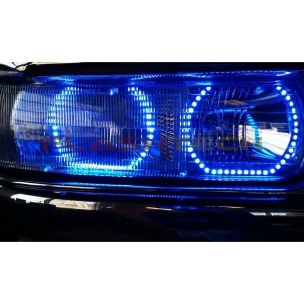 chevrolet suburban v 3 fusion color change halo headlight kit 2000 2006 chevrolet suburban v 3 fusion color