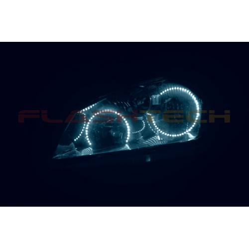 Hyundai Round Rock >> FLASHTECH White LED HEADLIGHT HALO KIT for Nissan Altima ...