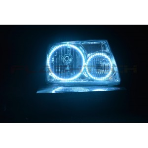 flashtech Ford Ranger V.3 Fusion Color Change LED Halo Headlight Kit (2001-2011) Ranger FO-RA0111-V3H