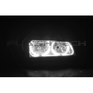 flashtech Chevrolet Silverado White LED HALO HEADLIGHT KIT (2003-2006) Silverado CY-SV0306-WH