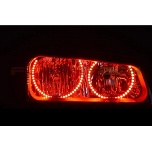 flashtech Chevrolet Silverado V.3 Fusion Color Change round halo headlight kit (2003-2006) Silverado CY-SV0306-V3H