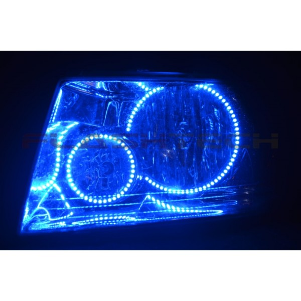 Ford Expedition V 3 Fusion Color Change Led Halo Headlight