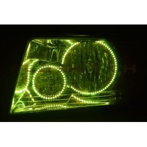 flashtech Ford Expedition V.3  Fusion Color Change LED Halo Headlight Kit (2003-2006) Fusion V.3 Headlight FO-EP0306-V3H