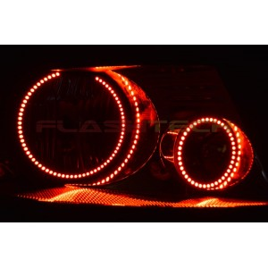 flashtech Lincoln Mark LT V.3 Fusion Color Change LED Halo Headlight Kit (2006-2008) Mark LT LI-MLT0608-V3H