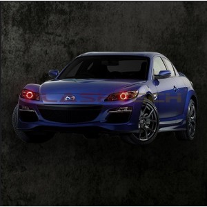 Mazda Rx-8 V.3 Fusion Color Change LED Halo Headlight Kit  (2004-2008)