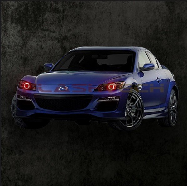 2008 Mazda Rx 8 Camshaft: Mazda Rx-8 V.3 Fusion Color Change LED Halo Headlight Kit