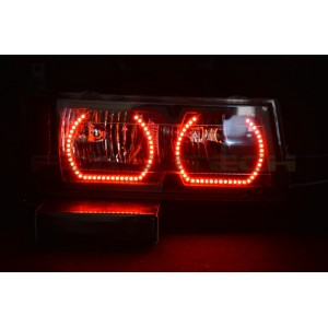 flashtech Chevrolet Colorado V.3 Fusion Color Change halo headlight kit (2004-2012) Colorado CY-CO0412-V3H