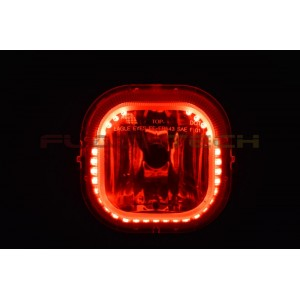 flashtech Ford F250 / F350 V.3 Fusion Color Change halo Fog light kit (2005-2007) F250 - F350 FO-F20507-V3F