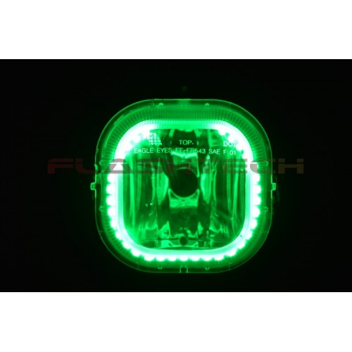 ford f250   f350 v 3 fusion color change halo fog light