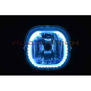flashtech Ford F250 / F350 V.3 Fusion Color Change halo Fog light kit (2008-2010) F250 - F350 FO-F20810-V3F