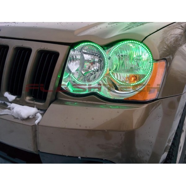 2009 jeep cherokeegreen2 600x600 jeep grand cherokee v 3 fusion color change led halo headlight kit Jeep Cherokee Stereo Wiring at bakdesigns.co
