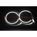 Jeep Grand Cherokee White LED HALO HEADLIGHT  KIT (2005-2007)