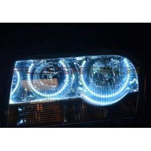 flashtech Chrysler 300 V.3 Fusion Color Change LED HALO HEADLIGHT KIT (2005-2010) 300 CH-300510-V3H