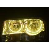 Chrysler 300 V.3 Fusion Color Change LED HALO HEADLIGHT KIT (2005-2010)