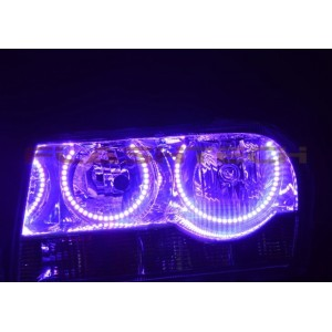 flashtech Chrysler 300 V.3 Fusion Color Change LED HALO HEADLIGHT KIT (2005-2010) 300 CH-300510-V3H