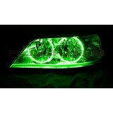 Lincoln Town Car V.3 Fusion Color Change LED Halo Headlight Kit (2005-2011)