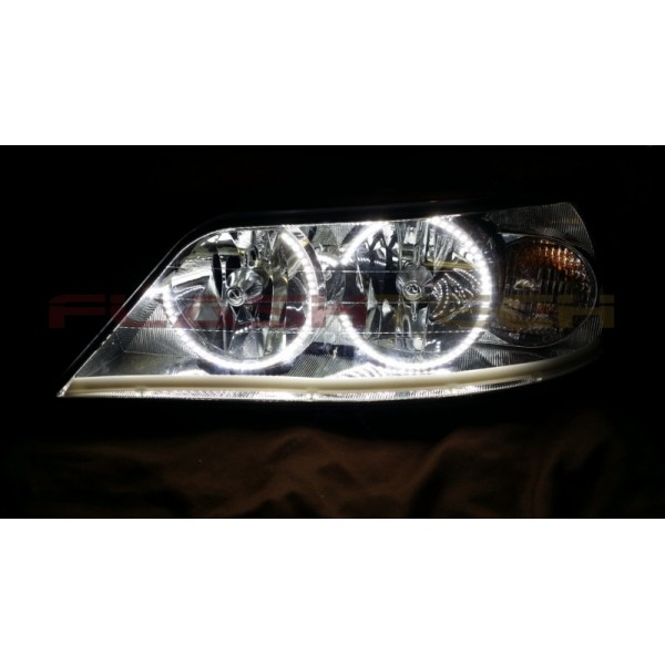 Lincoln Town Car White Led Halo Headlight Kit 2005 2011
