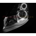 FLASHTECH White LED HEADLIGHT HALO KIT for Nissan Altima Sedan (2007-2009)