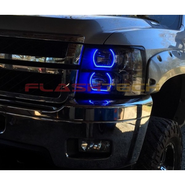 Chevrolet Silverado V 3 Fusion Color Change Halo Headlight
