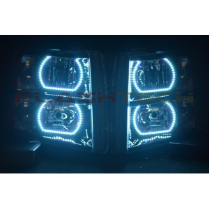 flashtech Chevrolet Silverado V.3  Fusion Color Change halo headlight kit (2007-2013) Silverado CY-SV0713-V3H
