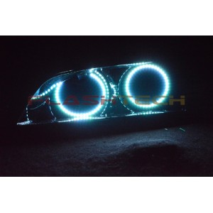 flashtech Pontiac G8 White LED HALO HEADLIGHT KIT  (2008-2009) G8 PO-G80809-WH