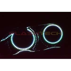 flashtech Pontiac G8 V.3 Fusion Color Change LED Halo Headlight Kit (2008-2009) G8 PO-G80809-V3H