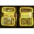 Ford F250 / F350 V.3 Fusion Color Change LED Halo Headlight Kit (2008-2010)