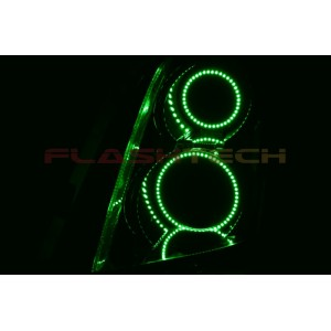flashtech Cadillac SRX V.3 Fusion Color Change LED Halo Headlight Kit (2004-2009) Cadillac CA-SRX0409-V3H