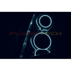 flashtech Cadillac CTS V.3 Fusion Color Change LED Halo Headlight Kit (2008-2013) Cadillac CA-CTSHA0813-V3H