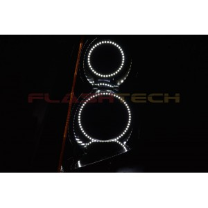 flashtech Cadillac CTS White LED HALO HEADLIGHT  KIT (2008-2013) Cadillac CA-SRX0409-WH
