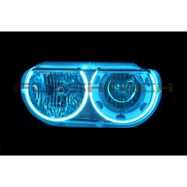 Dodge Challenger V 4 Plasma Color Change Led Halo