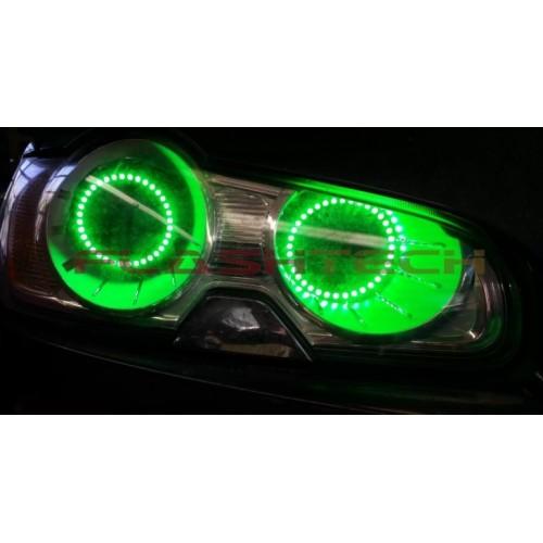 Jaguar Xf V 3 Fusion Color Change Led Halo Headlight Kit 2009 2011
