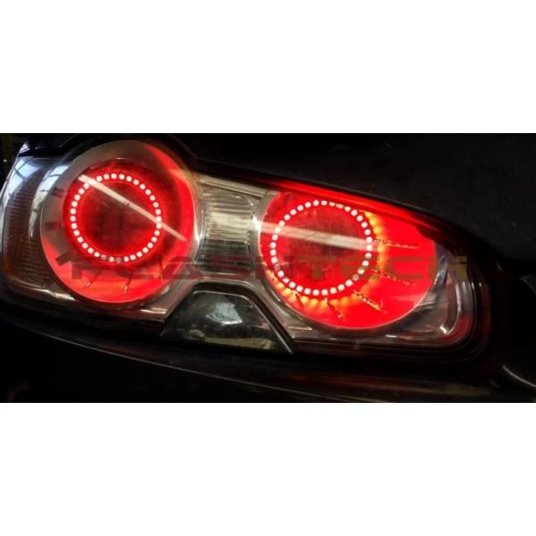 2010 Jaguar Xf Interior: Jaguar XF V.3 Fusion Color Change LED Halo Headlight Kit