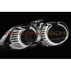 flashtech Chevrolet Traverse White LED HALO HEADLIGHT KIT (2009-2012) Traverse CY-TR0912-WH