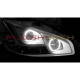 FLASHTECH White LED HEADLIGHT HALO KIT for Nissan Maxima (2009-2014)