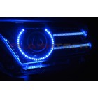 Ford Mustang Projector  V.3 Fusion Color Change LED Halo and DRL Headlight Kit (2013-2014)