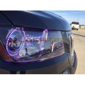 flashtech Jeep Grand Cherokee V.3 Fusion Color Change LED Halo Headlight Kit (2011-2013) Grand Cherokee JE-GC0507-V3H