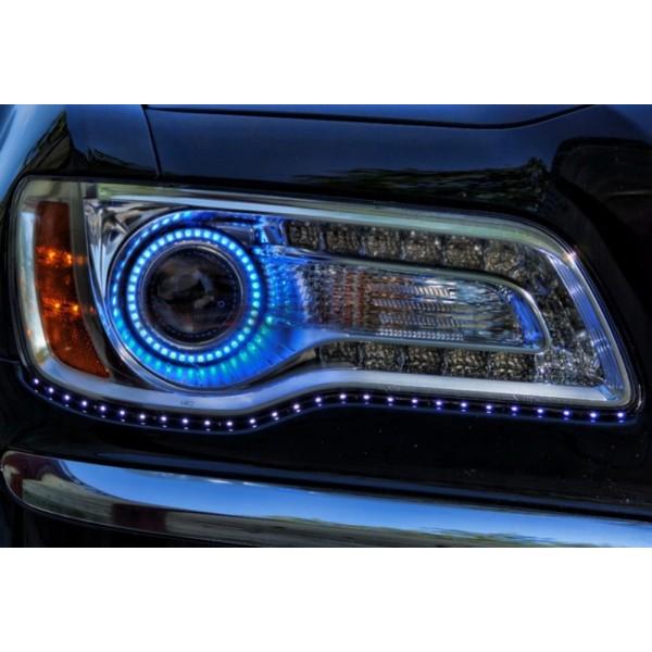 Chrysler 300 V 3 Fusion Color Change Led Halo Headlight