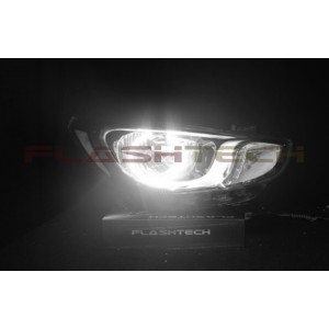 flashtech Flashtech White LED HALO HEADLIGHT KIT for Hyundai Accent (2012-2014) Accent HY-AC1214-WH