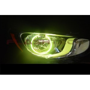 flashtech Flashtech V.3 Color Change LED Halo Headlight Kit for Hyundai Accent (2012-2014) Accent HY-AC1214-V3H
