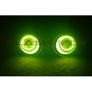 flashtech Flashtech V.3 Color Change Halo FOG LIGHT KIT for Nissan Altima Sedan 2013-2015 13-15 Altima NI-ALS1315-V3F