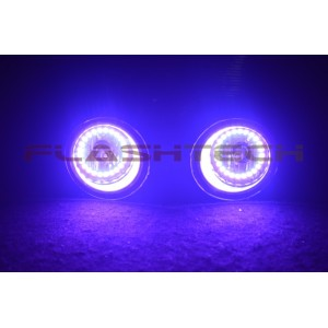 flashtech Toyota Tundra V.3 Fusion Color Change LED Halo Fog Light Kit (2014 +) 2014 + Tundra TO-TU1415-V3F