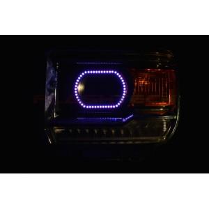 flashtech GMC Sierra V.3 Fusion Color Change LED Halo Headlight Kit (2014-2016) Sierra GMC-SR1416-V3H