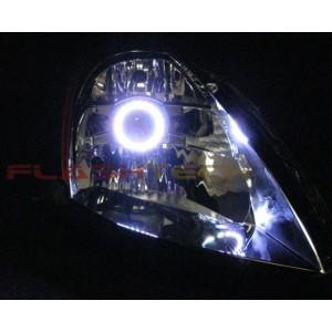 flashtech FLASHTECH White LED HEADLIGHT HALO KIT for Nissan 350z  (2003-2005) 350Z NI-35Z0305-WH