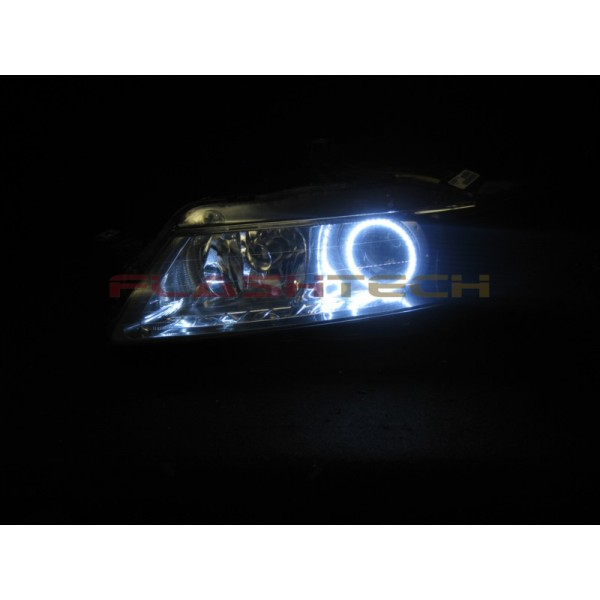 Acura TL White LED Halo Headlight Kit (2005-2007