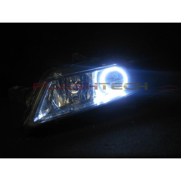 Acura TL White LED Halo Headlight Kit - Acura tl halo headlights