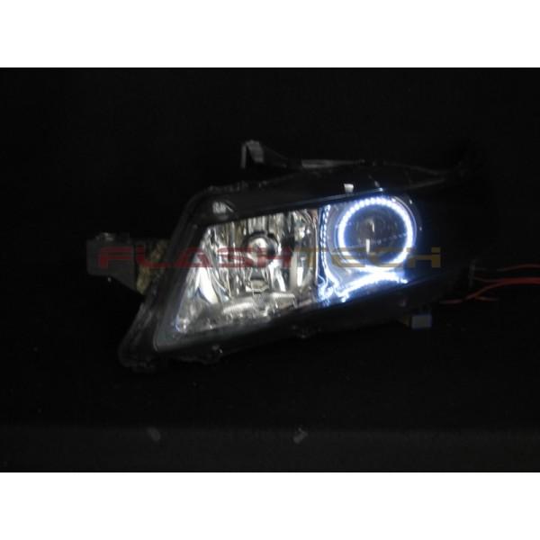Acura TL White LED Halo Headlight Kit - 2005 acura tl headlights