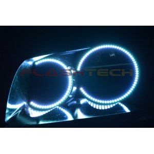 flashtech Dodge Magnum V.3 Fusion Color Change LED Halo Headlight Kit (2005-2007) Magnum DO-MG0507-V3H