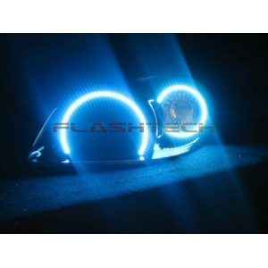 flashtech Chevrolet Cobalt V.3 Fusion Color Change Halo Headlight Kit (2005-2010) cobalt CY-CO0510-V3H